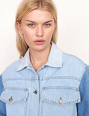 Second Female - Sherman Jacket - jeansjackor - bel air blue - 3