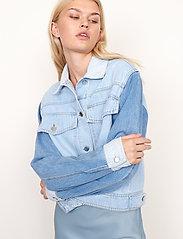 Second Female - Sherman Jacket - jeansjackor - bel air blue - 4