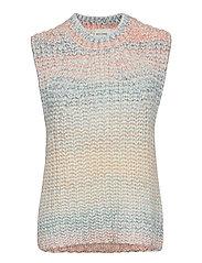 Elsa Knit Vest - BRUNNERA BLUE