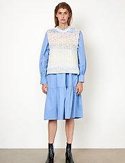 Second Female - Elsa Knit Vest - stickade västar - brunnera blue - 4