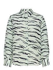 Tiger Shirt - CLEARLY AQUA
