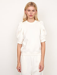 Second Female - Miami Sweat Tee - t-shirts - off white - 4