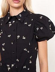 Second Female - California Dress - sommarklänningar - black - 3