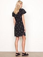 Second Female - California Dress - sommarklänningar - black - 6