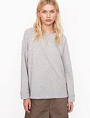Second Female - Osaka Sweat - sweatshirts - grey melange - 0