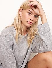Second Female - Osaka Sweat - sweatshirts - grey melange - 3
