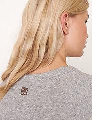 Second Female - Osaka Sweat - sweatshirts - grey melange - 4