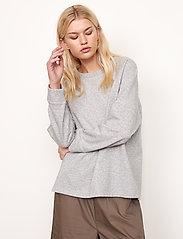 Second Female - Osaka Sweat - sweatshirts - grey melange - 5