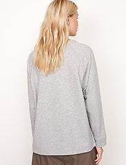 Second Female - Osaka Sweat - sweatshirts - grey melange - 6