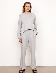 Second Female - Osaka Sweat - sweatshirts - grey melange - 8