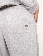 Second Female - Osaka Sweat Pants - sweatpants - grey melange - 4