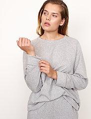 Second Female - Osaka Sweat Pants - sweatpants - grey melange - 5
