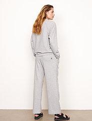 Second Female - Osaka Sweat Pants - sweatpants - grey melange - 6