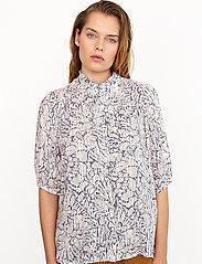 Second Female - Fiji Shirt - kortärmade skjortor - bright white - 0