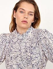 Second Female - Fiji Shirt - kortärmade skjortor - bright white - 3