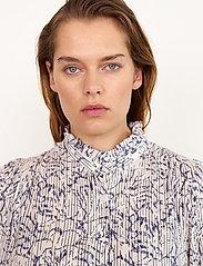 Second Female - Fiji Shirt - kortärmade skjortor - bright white - 4