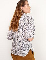 Second Female - Fiji Shirt - kortärmade skjortor - bright white - 5