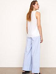 Second Female - Cairo Trousers - bukser med brede ben - bel air blue - 4