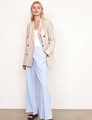 Second Female - Cairo Trousers - bukser med brede ben - bel air blue - 5