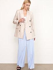 Second Female - Cairo Trousers - bukser med brede ben - bel air blue - 6