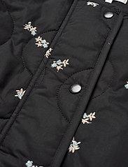 Second Female - California Quilt Jacket - quiltade jackor - black - 8