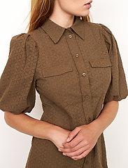 Second Female - Bilbao Mini Dress - sommarklänningar - stone green - 6