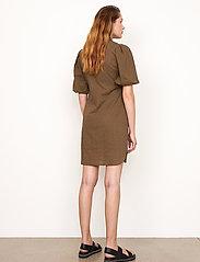 Second Female - Bilbao Mini Dress - sommarklänningar - stone green - 7