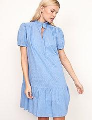 Second Female - Bilbao Dress - sommarklänningar - bel air blue - 4