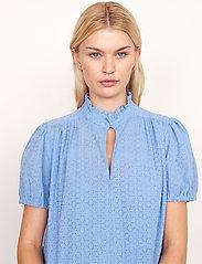 Second Female - Bilbao Dress - sommarklänningar - bel air blue - 5