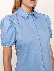 Second Female - Glasgow Shirt - kortärmade skjortor - bel air blue - 3