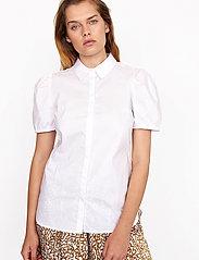 Second Female - Glasgow Shirt - kortärmade skjortor - bright white - 0