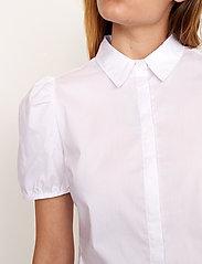 Second Female - Glasgow Shirt - kortärmade skjortor - bright white - 3