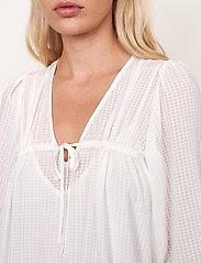 Second Female - Tara Dress - sommarklänningar - bright white - 4