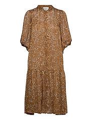 Fijito Dress - BRONZE BROWN