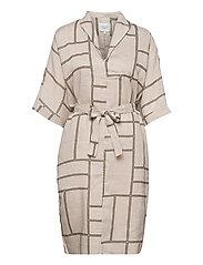 Laval Dress - PARCHMENT
