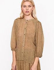Second Female - Firenze Shirt - långärmade blusar - star fish - 0