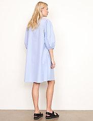 Second Female - Moscow Dress - vardagsklänningar - bel air blue - 6