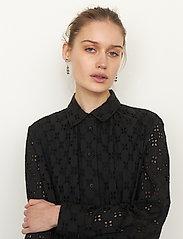 Second Female - Thelma Dress - spetsklänningar - black - 3