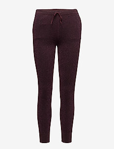Idal Knit Trousers - trousers with skinny legs - port royale