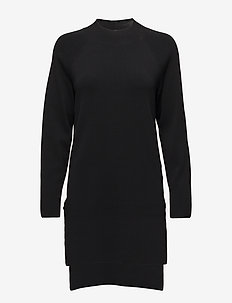 Malika Knit Dress - BLACK
