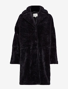 Myra Coat - fuskpäls - black