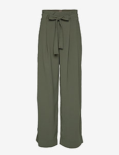 Yasemin Long Trousers - DEEP DEPTHS