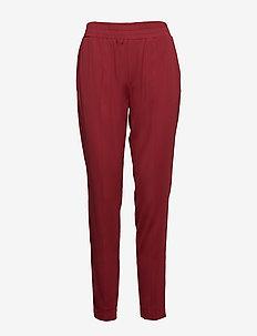 Farrah Trousers - casual byxor - brick red