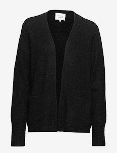 Brook Knit New Short Cardigan - BLACK