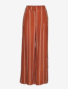 Eddison HW Trousers - CHOCOLATE FONDANT