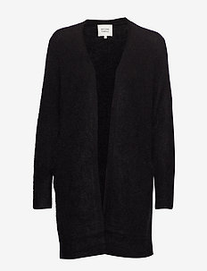 Brook Knit New Pocket Cape - BLACK
