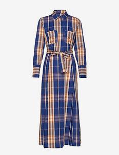 Nonie Long Dress - MAZARINE BLUE