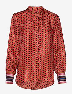 Tiles Shirt - LYCHEE