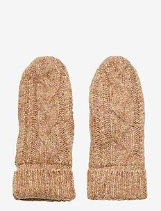 Pinea Knit Mittens - rękawiczki - lark