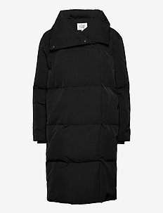 Uranus Down Coat - dunkåper - black